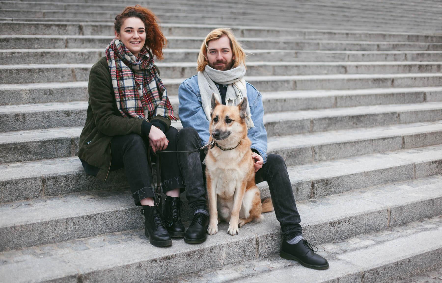 Die Stadthunde Fuxherz Portrait Jolly Schwarz Photography Alexandra Stalzer Grafikdesign Wien Hunde Stadt